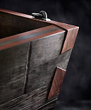 Gretz Craft Dovetail Planter Corner Detail